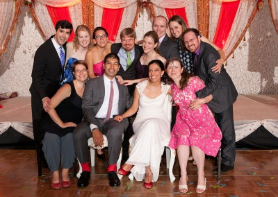Zeba and Rishi's wedding