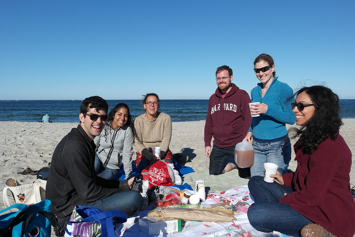 DePace Lab at the Beach