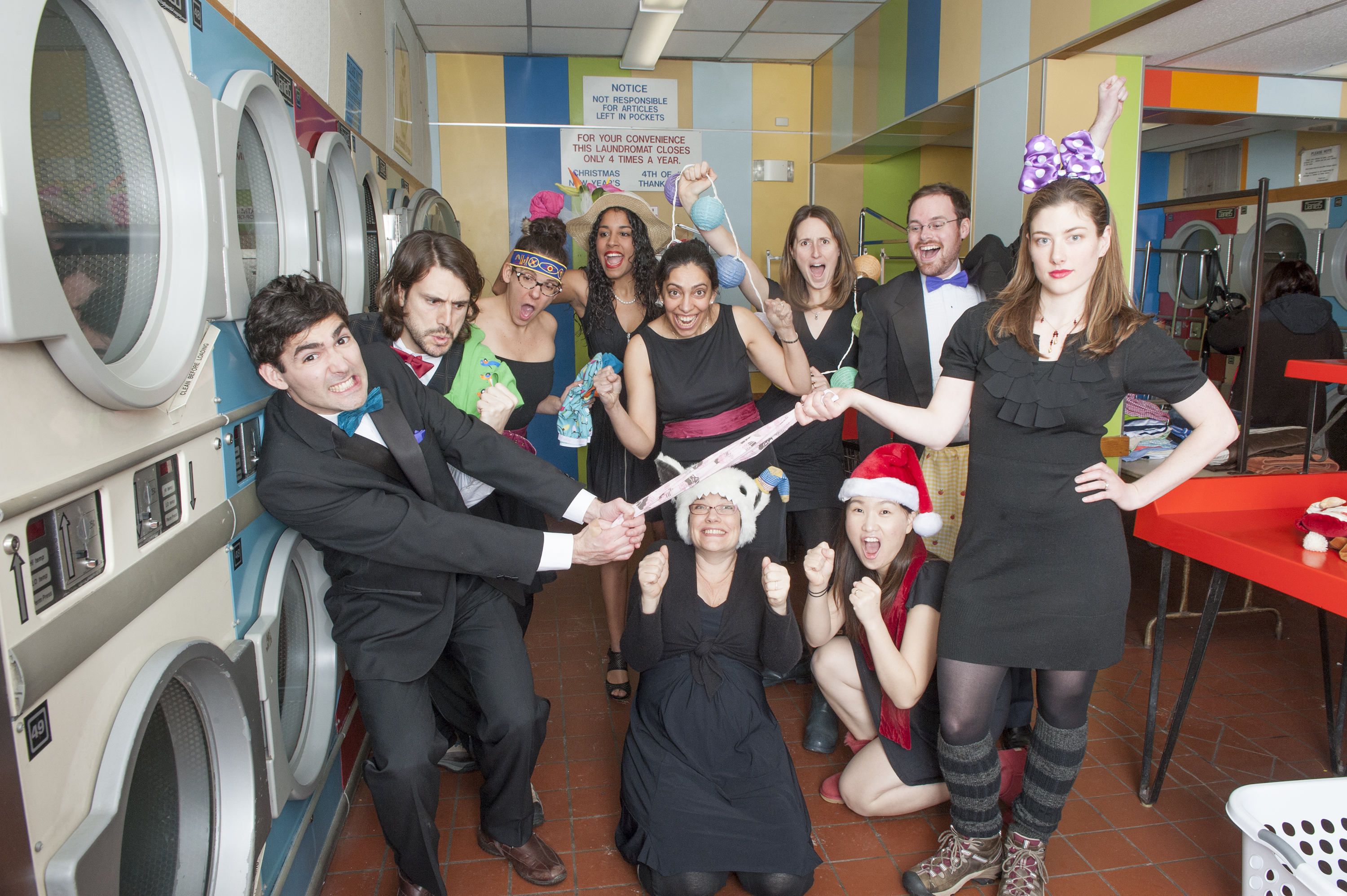 2013 - Laundromat Formal